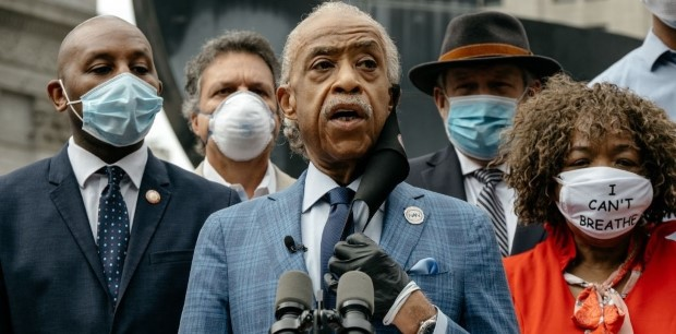 maskcover Custom - Cover Story: Al Sharpton Talks Misconceptions About His Place at the Center of Civil Rights @thereval