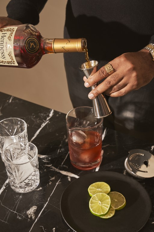 HENNESSY NBA Jumpshot Ginger - Hennessy Celebrates the Upcoming NBA Season with New Cocktails