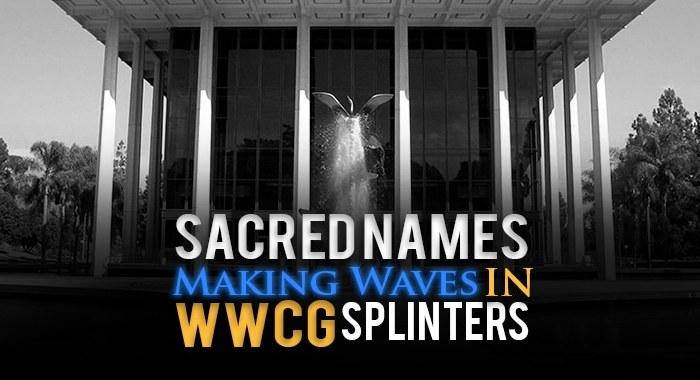 Worldwide Church of God splinters, offshoots