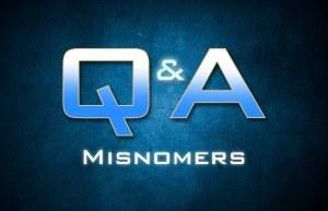 misnomers