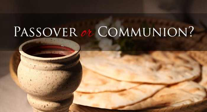 Passover Communion easter