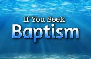 Baptism in the Bible mikvah