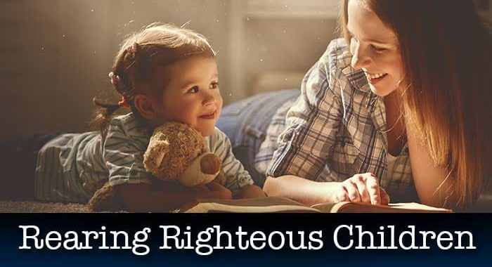 Raising children from the Bible