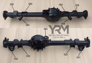 Rear Axle Coil Spring Mounting Bracket  YRM Metal Solutions
