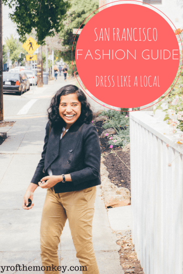 What to wear in San Francisco is a local's guide to how to dress in San Francisco for every weather and how to choose your San Francisco outfits to blend in like a local. A complete San Francisco, California, USA fashion guide, this is a handy post to pin to your fashion board #sanfrancisco #fashion #sfstreetstyle #sanfranciscooutfits