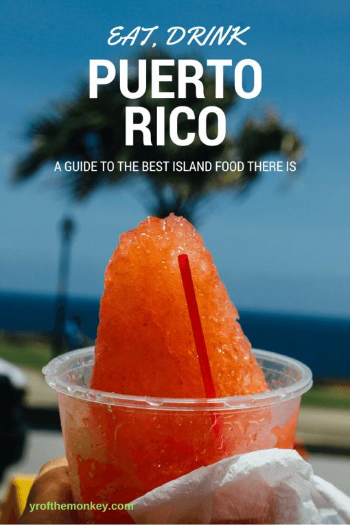 Food guide Puerto Rico San Juan