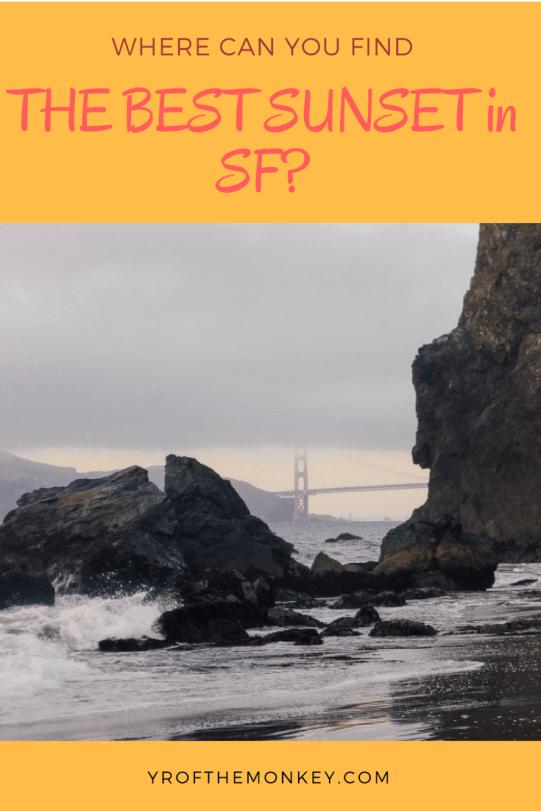 Best San Francisco sunset secret beach