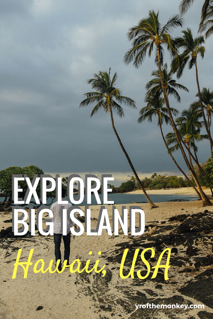 The ultimate travel guide to Big Island, Hawaii, USA listing the top attractions and yummy local food that you must try. Includes secret beaches and a coffee tour.