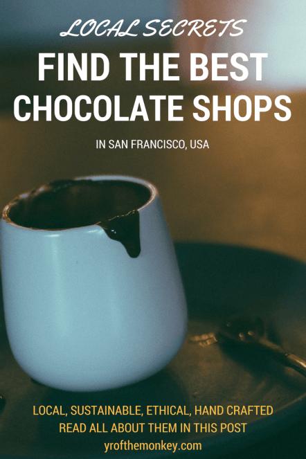 San Francisco chocolate stores USA food dessert