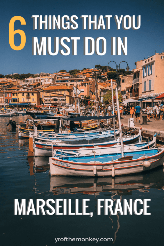 What to see in Marseille, France? If you've been asking this question, look no further than this amazing travel guide which provides the best of Marseille attractions and food options. This three day travel itinerary of Marseille showcases Chateau D'IF, beaches, monuments, murals and other must do things while in France's port city! #marseille #france #travel #europe