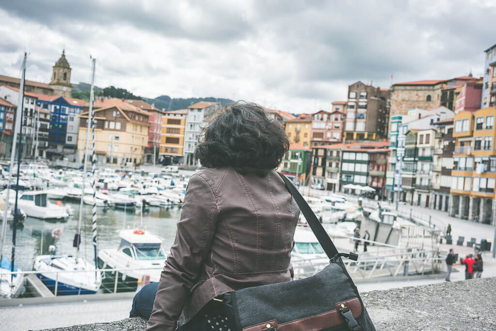 Another stop is Barmeo from Bilbao to San Sebastian on your northern Spain road trip. This is the most important fishing port in the Basque region of Spain