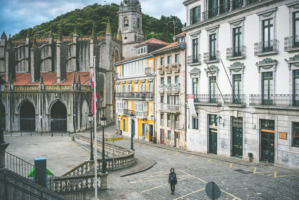 Lekeitio in Basque region of Spain. Another must visit place on your way from Bilbao to San Sebastian during your northern Spain road trip.