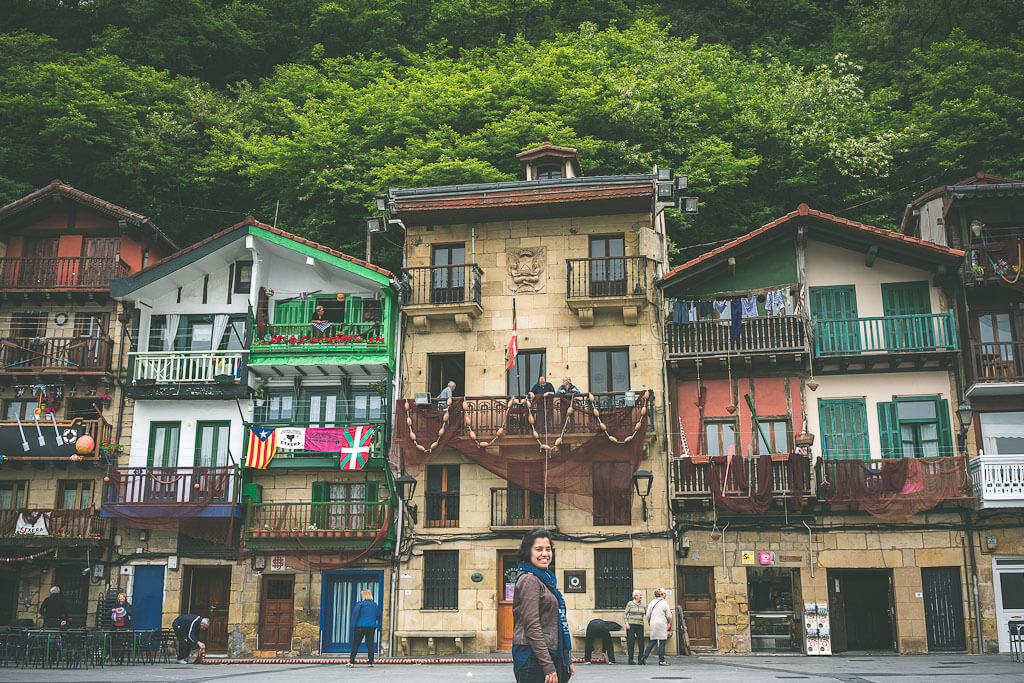 Pasajes de San Juan is a tiny basque fishing village and makes an excellent day trip from San Sebastian. include this in your Northern Spain itinerary or Spain road trip