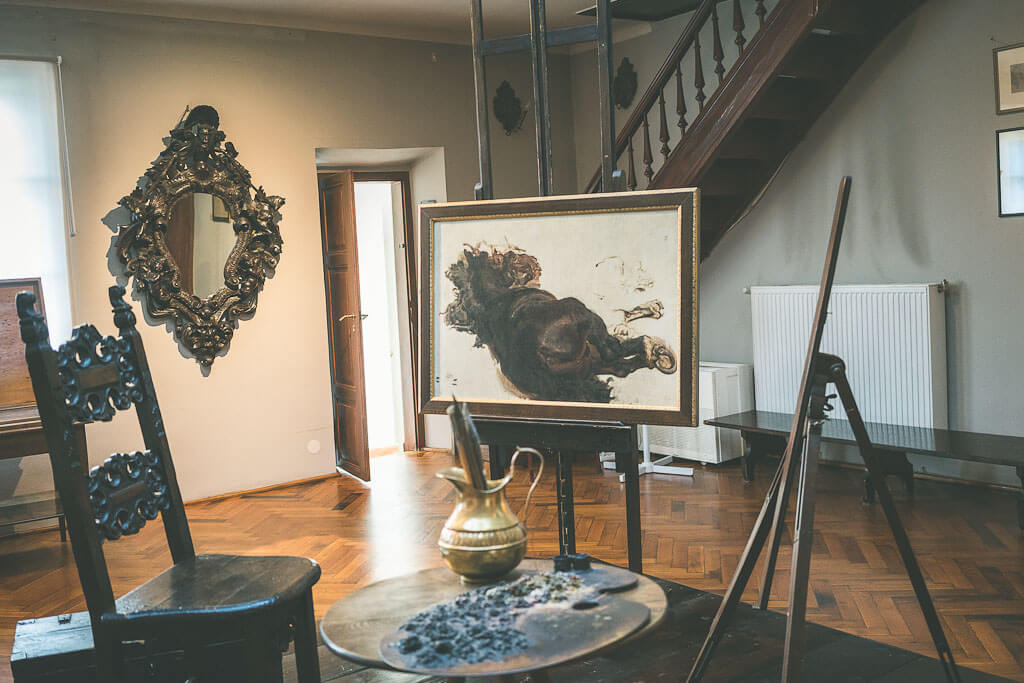 Art museum (Jan Matejko house), another offbeat gem to explore with 3 days in Krakow