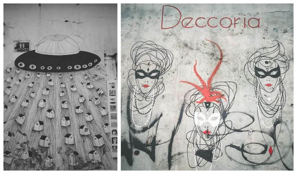How to enjoy 3 days in Krakow: an offbeat guide. Murals of Kazimierz