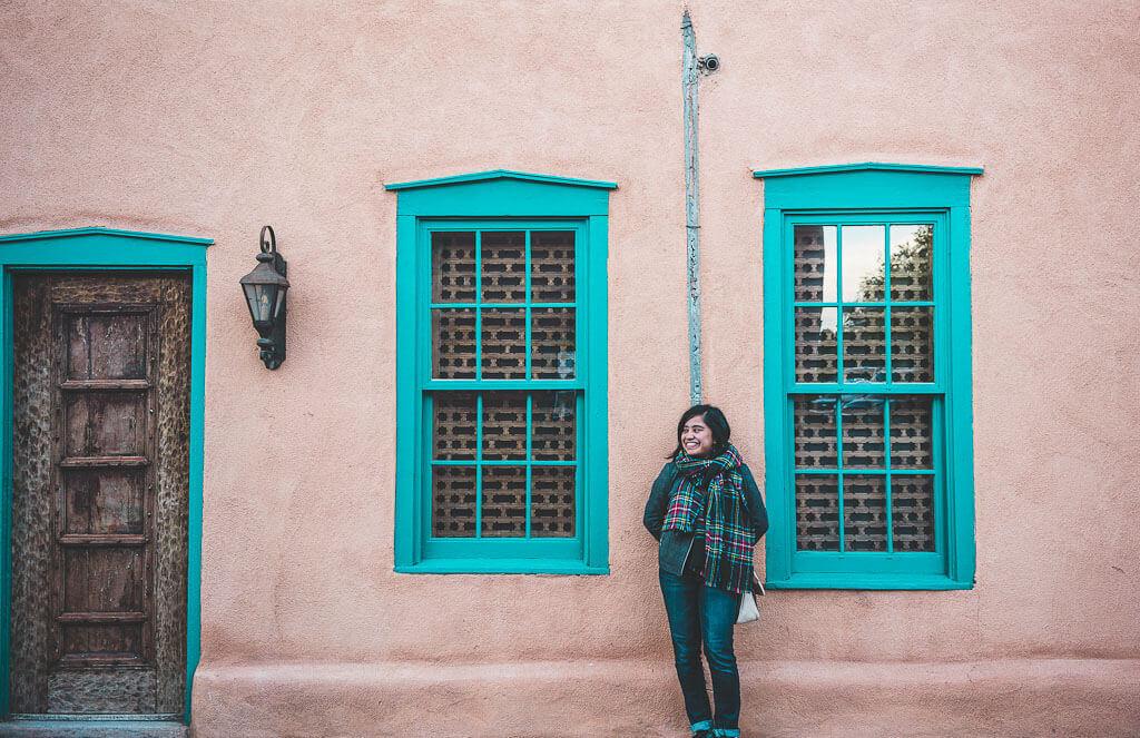Santa Fe, New Mexico: Adobe houses