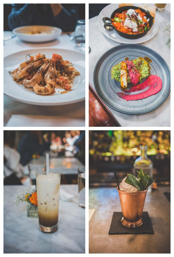Where to eat in Savannah on a day trip, Savannah restaurants, The Collins Quarter, Churchill's , The Prohibition, Southern food, mint julep