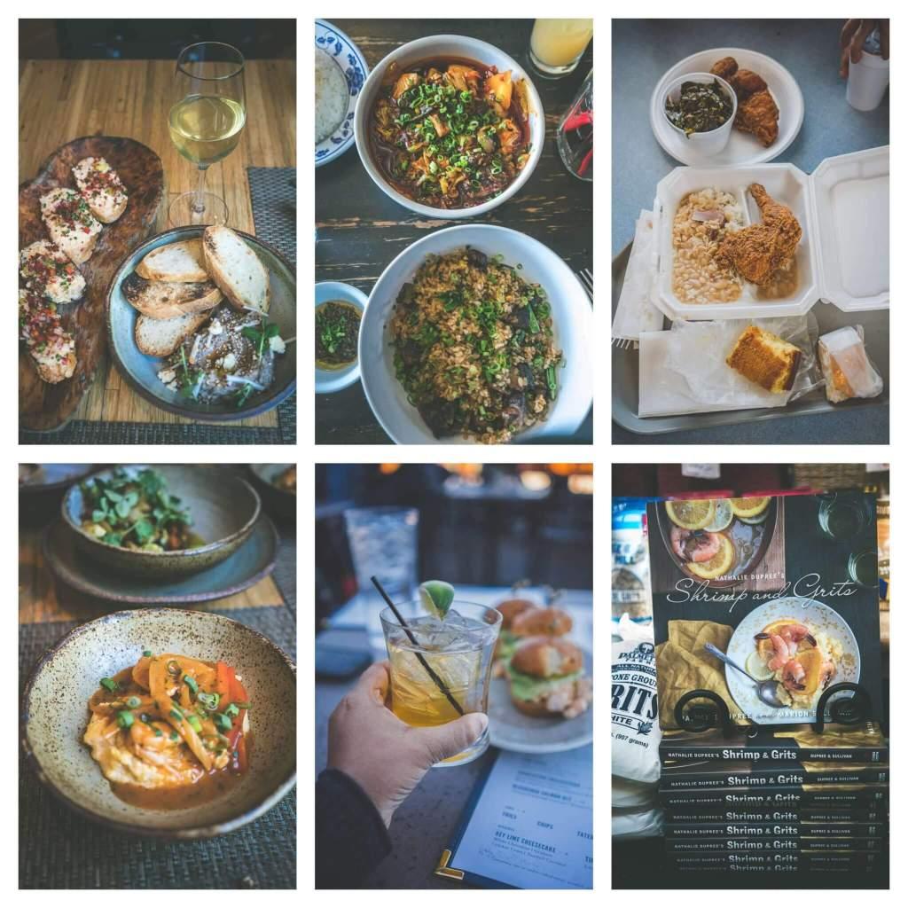 Lunch in Charleston, Husk, Bertha's kitchen, Xiao Bao Biscuit
