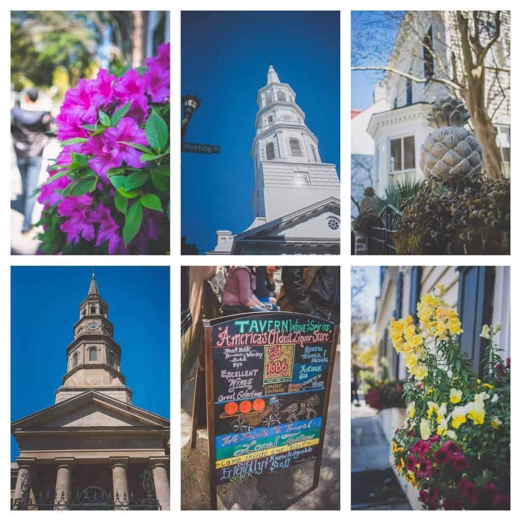 Architecture of Charleston, walking tour of Charleston, churches of Charleston