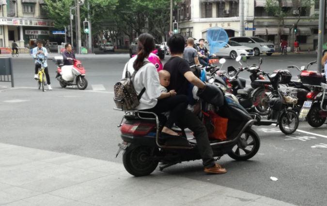 4 Moto en Shanghai