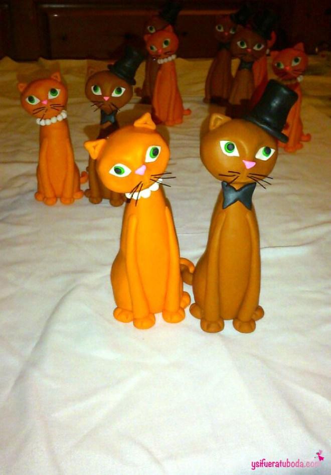 Las 5 parejas de gatos