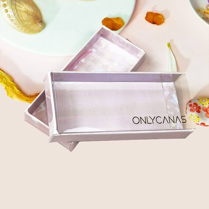 Clear lash packaging boxes