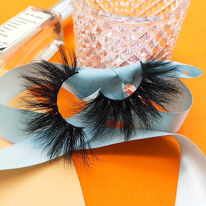 silk lash and real mink eyelashes