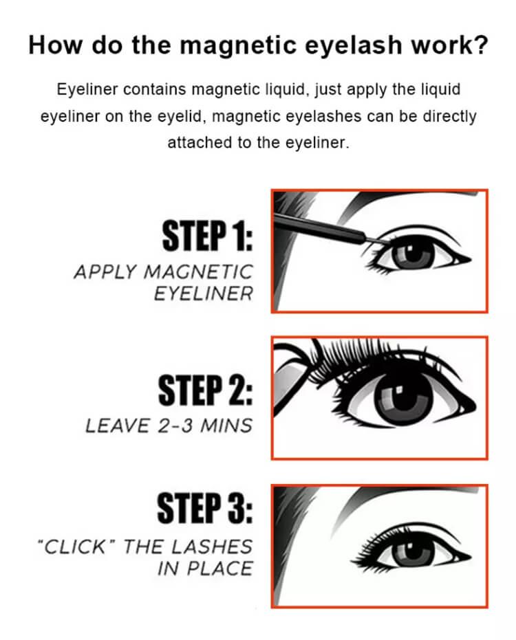 Wholesale Magnetic Eyelashes Vendor