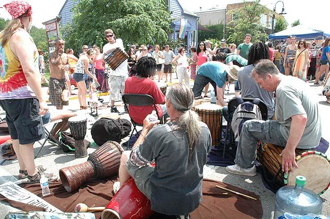 Joyful noises at Street Fair