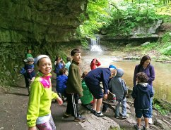 second grade walkabout to the Cascades
