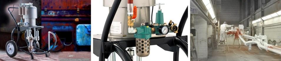 Yorkshire Spray Services Ltd – Q-Tech QAXT Pump Action