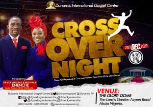 Dunamis Crossover Night 2020-2021 Service 31st December 2020 at Glory Dome