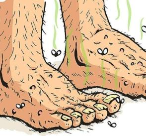 A Surefire Way To Get Rid Of Stinky Feet Fast