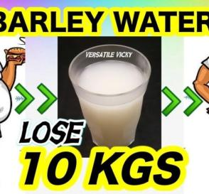 How to Lose Weight Fast 10 Kgs in 1 Month Barley Water For Weight Loss Lose 3 Kgs in a Week