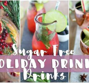 3 QUICK EASY HOLIDAY DRINKS Healthy Holiday Recipes