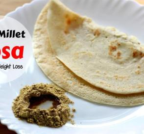 Chama Dosa Rice Free Diabetic Diet Dosa With Little Millet Healthy Weight Loss Breakfast Recipes