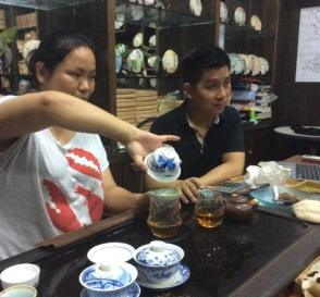 Visiting Yiwu Mountain Tea