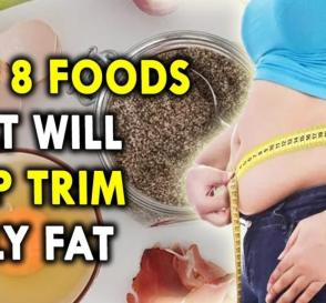 Top 8 Foods That Will Help Trim Belly Fat Weight Loss Diet Paln