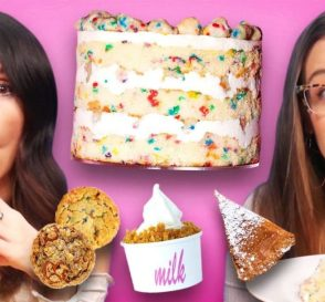 Trying Delicious Desserts from Milk Bar Cheat Day