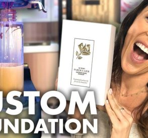 We Made Our Own Custom Foundation Beauty Trippin