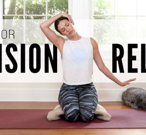 Yoga For Tension Relief Yoga With Adriene