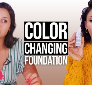 Color Changing Foundation Does It Work Beauty Break