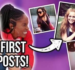 Reacting to Our Old Instagram Pictures embarrassing
