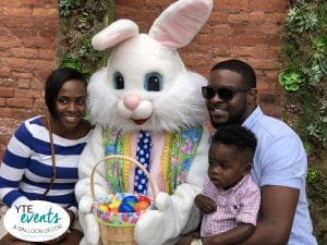 Armature Works Easter Bunny Family Photo