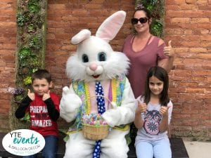 Armature Works Tampa Venue Easter Bunny Thumbs Up