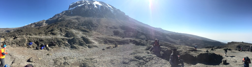 Kobo Peak Kilimanjaro Barranco Wall Top