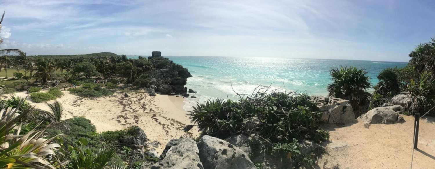 Temple god wind, tulum ruins Quintana Roo, Mayan beachside ruins mexico