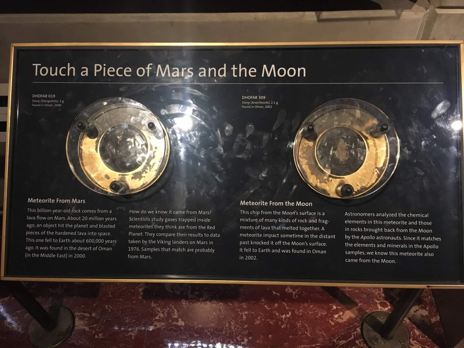 Griffith observatory interactive exhibits