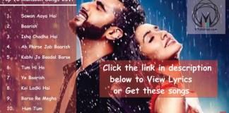 Rain Dance Party Songs