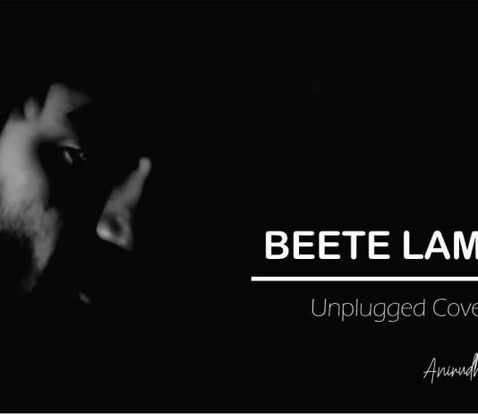 Beetein Lamhein Unplugged, KK, Cover, Anirudh Deshmukh, The Train